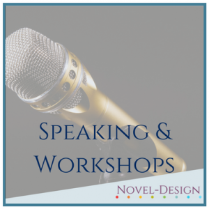 novel design, debbie forster, speaking, workshops